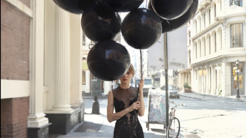 Little Black Balloon