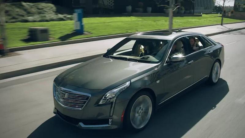 Cadillac Backseat